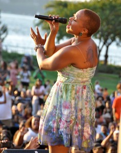 Chrisette Michele in 2011. (GODLIS)