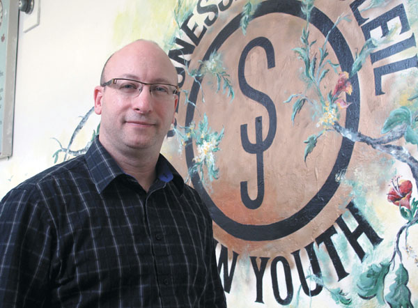 Here at Sun Youth: Tommy Kulczyk is married … to his job