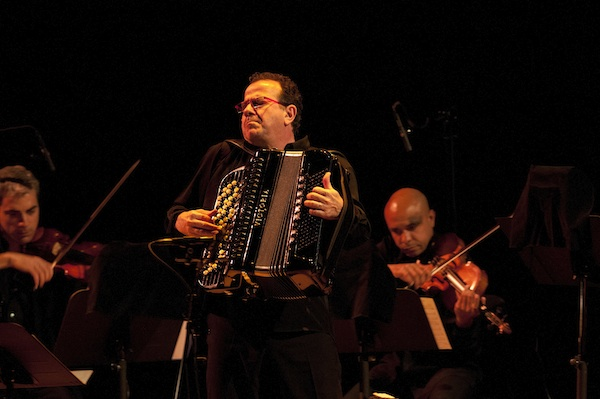 Richard Galliano proves the accordion to be infinitely versatile. Photo: Denis Alix, Montreal International Jazz Festiva