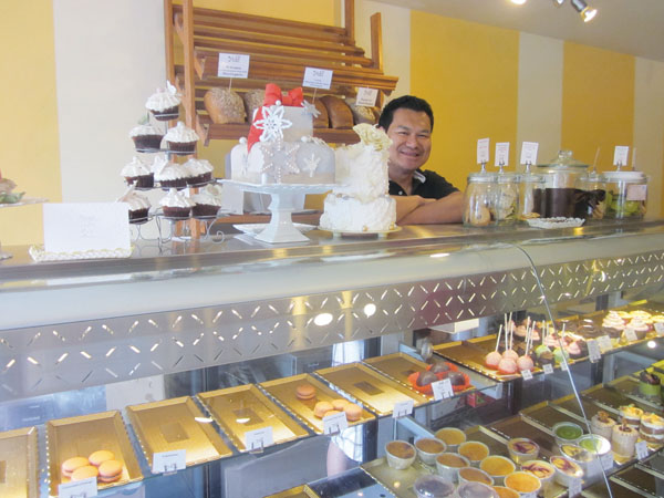 Hank Teavs bakery, Yuki, offers the best rye bread in town, plus desserts to die for, Barbara Moser says. Photo: Barbara Moser
