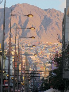 Antofagasta at twilight