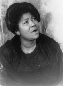 Jazz artist Ranee Lee inspired by Mahalia Jackson