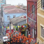 Artsy Valparaiso, Chile: Up and down and up