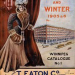 The cover of the Eaton&#039;s department store Fall and Winter 1905-6 catalogue.