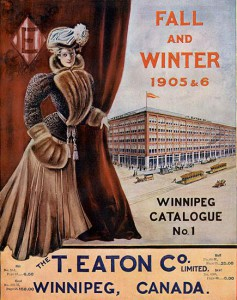 The cover of the Eaton's department store Fall and Winter 1905-6 catalogue.