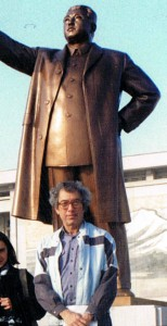 Kim-Il Sung and Harry Rolnick.