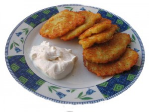 Hanukah traditions: The miracle of oil and latkes cooked in it