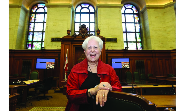 Louise Harel, the woman who would be mayor