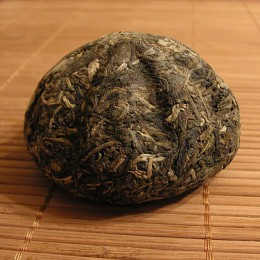 Tea cakes called Pu-erh are aged, and like winethey can be aged for 100 years. (Photo by Jason Fasi)