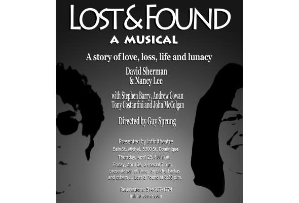 Theatre preview: Lost & Found