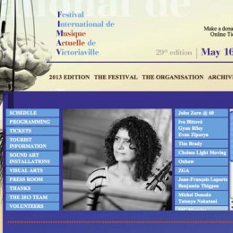 Victoriaville music festival: Organized, improvised sound