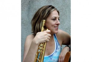 Trumpeter Ingrid Jensen plays l'Astrale as part of the jazz fest on July 1. (Photo courtesy of the Montreal International Jazz Festival)