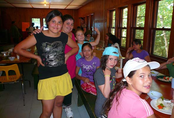 Best friends forever are made at summer camp—and it gives parents a break. (Photo courtesy of Generations Foundation)