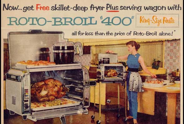 Flavour Guy: Back to the future with the Roto-Broil 400