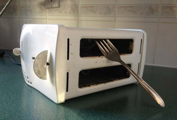 Broken toaster? Consider getting it fixed rather than buying new.