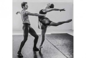 Erin-Scott Kafadar and Timothy Hopkins (Photo: Le Ballet Eddy Toussaint)