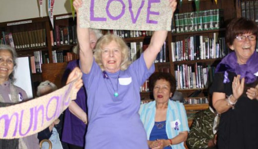 RECAA and Contactivity members danced at the Atwater Library to mark World Elder Abuse Awareness Day.