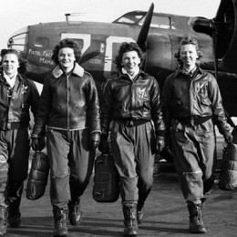 Female pilots played a significant role during the Second World War. (Photo courtesy of Spitfire Productions)