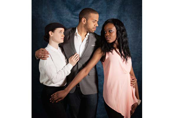 Repercussion Theatre's Twelfth Night features Emelia Hellman, Mike Payette and Rachel Mutombo.
