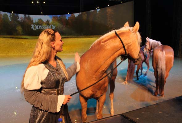 Cavalia's Odysseo in Montreal, 2015. (Photo by Stephen Deligeorge)