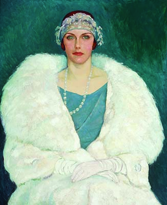 Randolph S. Hewton (1888-1960) Mlle Mary Macintosh; 1924 ou avant; Huile sur toile; 101,6 x 86,3 cm; Peter Dobell (Photo David Barbour) Randolph S. Hewton (1888-1960) Miss Mary Macintosh; 1924 or earlier; Oil on canvas; 101.6 x 86.3 cm; Peter Dobell (Photo David Barbour)