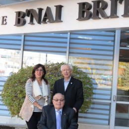 Eileen Katz, Gerry Weinstein and Ted Greenfield are planning a new Château B'nai Brith. Photo: Irwin Block