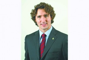 Papineau Liberal Member of Parliament Justin Trudeau in Montreal December 17, 2008. Photo by Blair Gable for Maclean's Magazine
