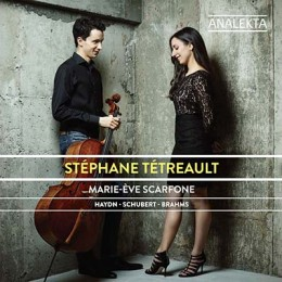 CD review: Stéphane Tétreault,  Marie-Ève Scarfone
