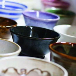 Empty Bowls: Purchase a pottery bowl and enjoy the soup