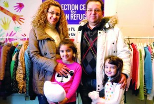 Syrian Family: Raghad Zammar (mother), Hani Khouri (father), Mary and Zinah (sisters)