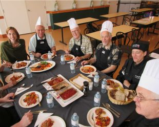 Men in the Kitchen give a boost to caregivers