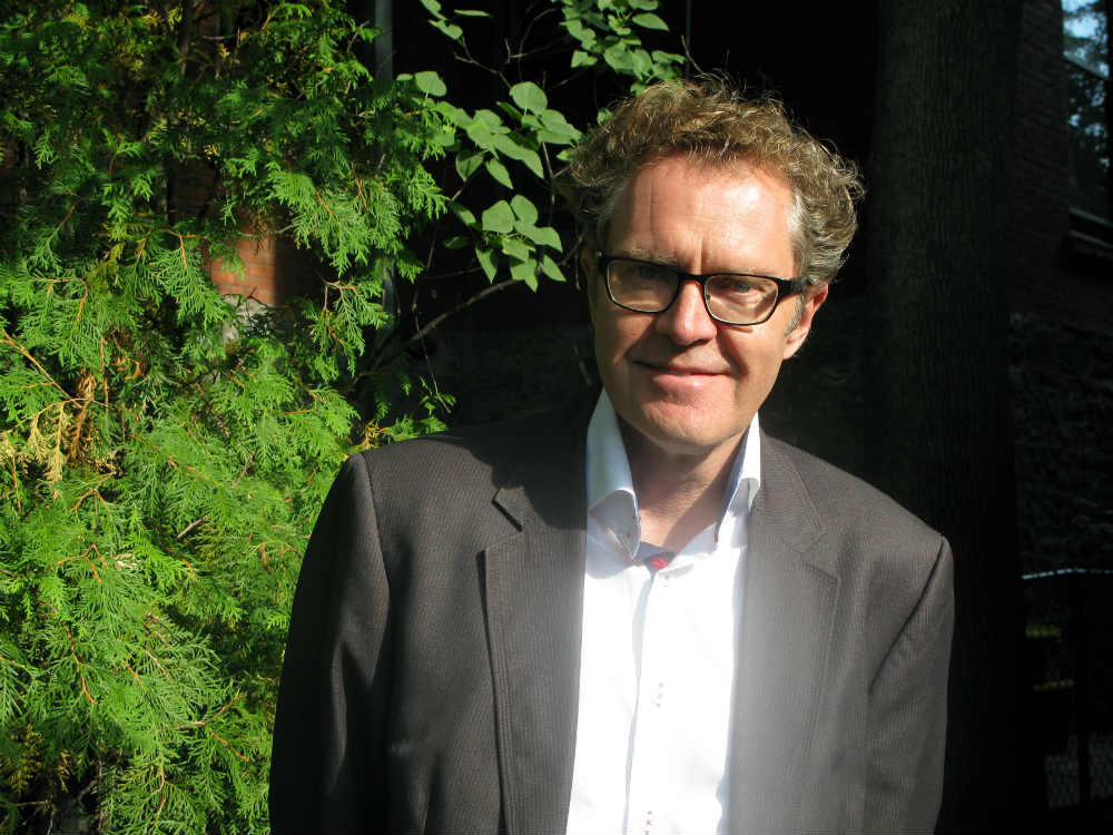 Fact is more compelling than fiction, says Ross King. (Photo: Kristine Berey)