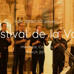 Festival de la Voix begins March 21