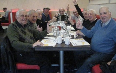 Côte St. Luc Men's Club: A few young guys meet for breakfast
