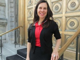 Make the city accessible for all, says Valérie Plante. Photo by Barbara Moser