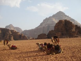 Discovering the otherworldly Israeli and Jordanian deserts