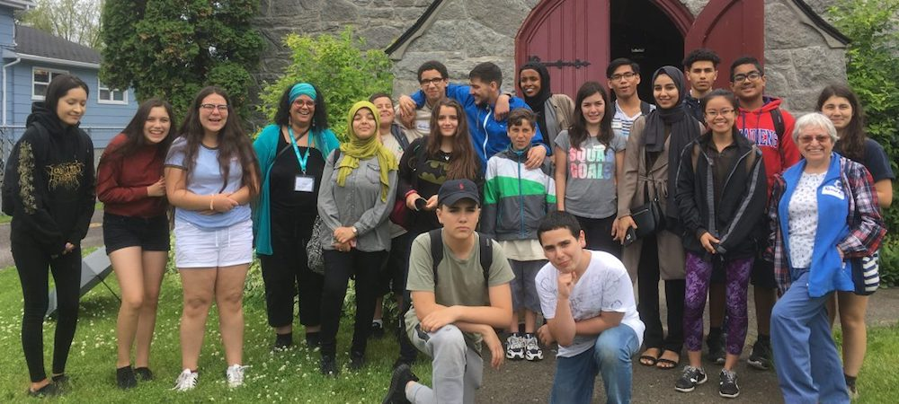 Four cultures of youth connect, break down stereotypes
