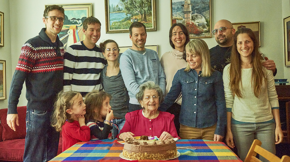 A son appreciates his mother on her 100th birthday