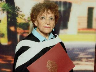 The love of being a student: the story of Irene Steiner